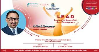 L.E.A.D – Leadership Exploration and Development  A Jindal Global Winter School