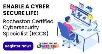 ROCHESTON Certified CyberSecurity Specialist (RCCS) Certification Training