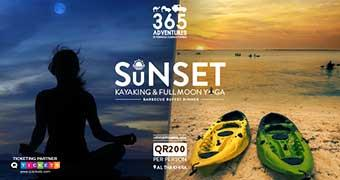 Sunset Kayaking & Full Moon Yoga