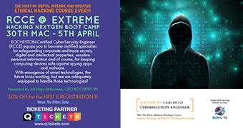 ROCHESTON's Certified CyberSecurity Engineer (RCCE) BOOTCAMP  EXTREME HACKING NeXTGEN