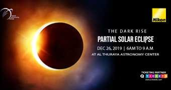 THE DARK RISE  PARTIAL SOLAR ECLIPSE