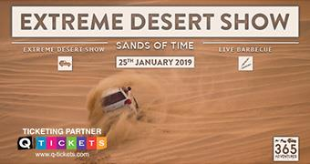 Extreme Desert Show and BBQ (Sands of Time)