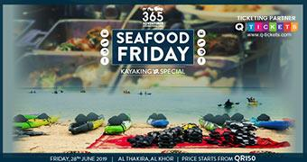 Kayaking at the Purple Island – Seafood Friday