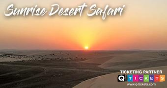 Sunrise Desert Safari