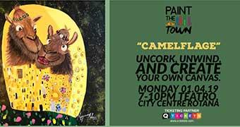 Paint The Town Camelflage