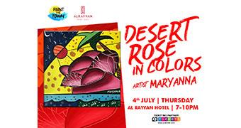 Paint The Town – Desert Rose in Colors