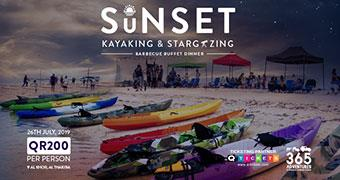 Sunset Kayaking, Stargazing & BBQ