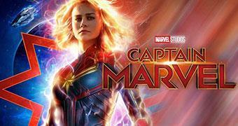 CAPTAIN MARVEL (ENGLISH) -Movie banner