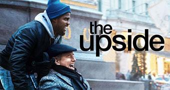 THE UPSIDE (ENGLISH) -Movie banner